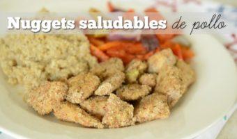 Nuggets saludables de pollo, para comer rico y ligero