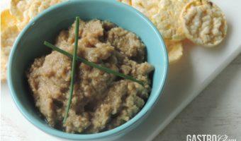 Hummus de berenjena, un toque árabe para la cocina diaria