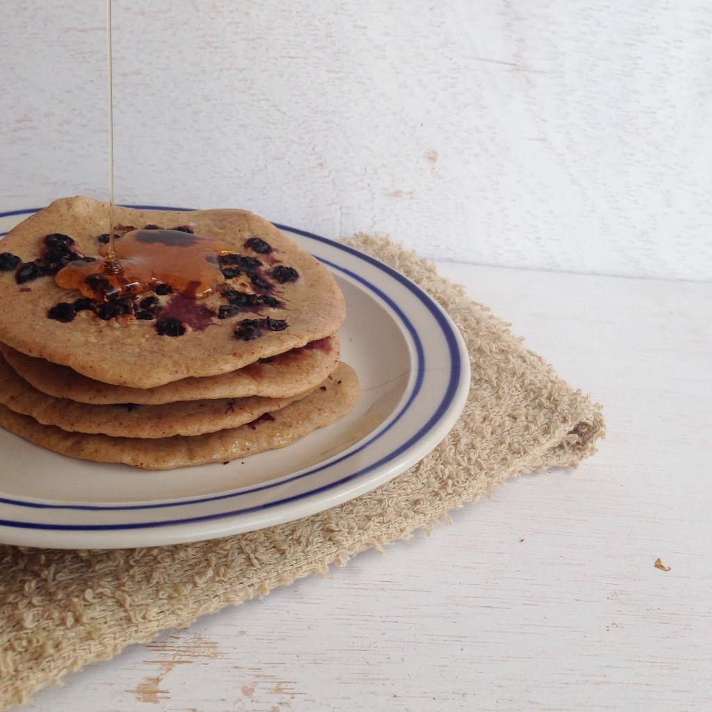 Pancakes de agraz