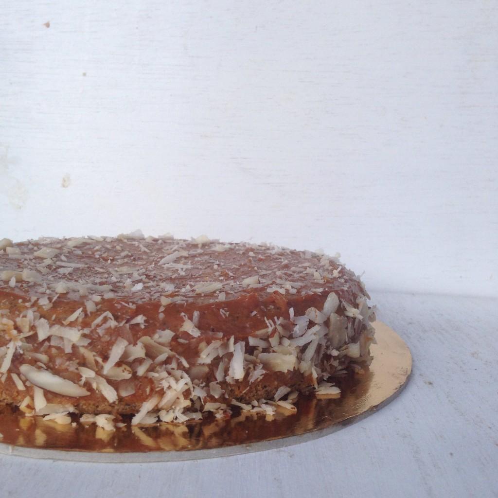 Cake de amapola y arándanos