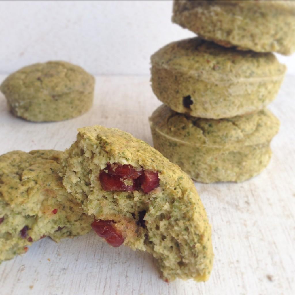 Muffins verdes