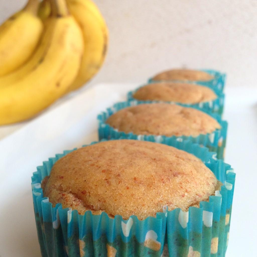 Muffins de banano paso 1