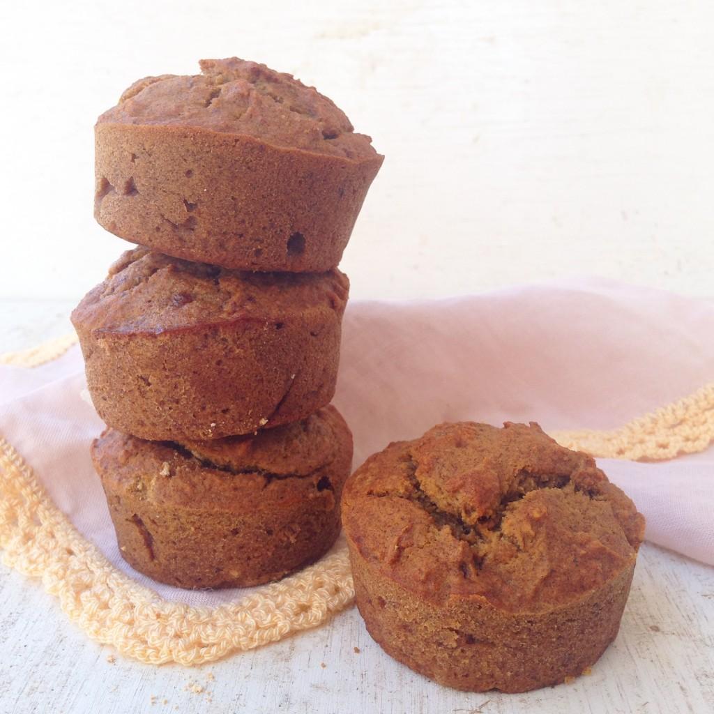 Muffins de banano paso 2