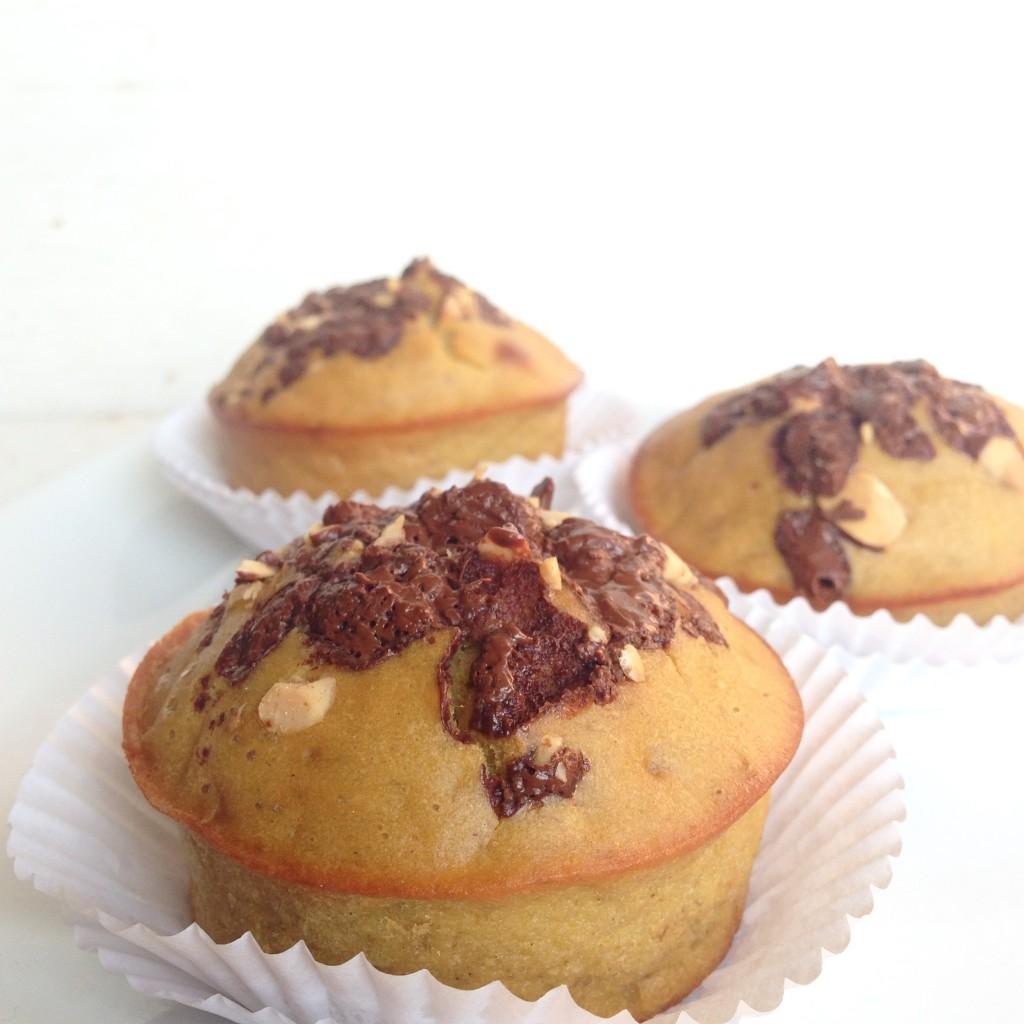 Muffins de banano paso 3