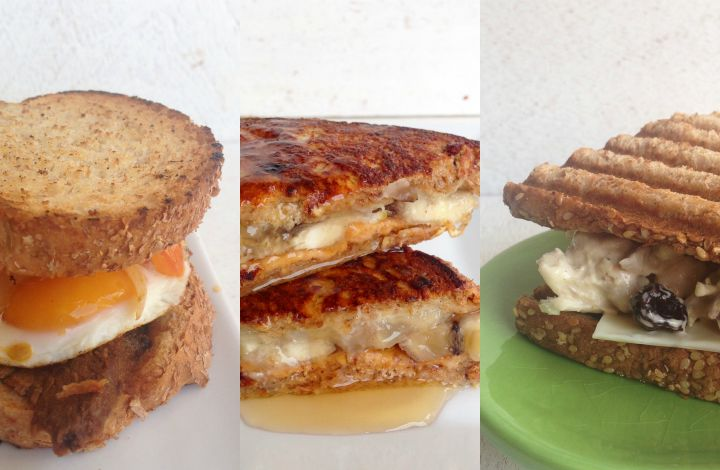 Collage Sandwiches Saludables y Ricos
