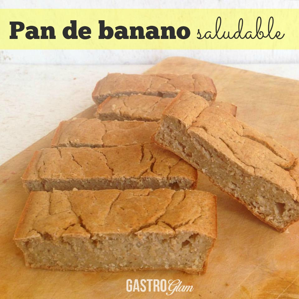 Pan de banano saludable (Post)