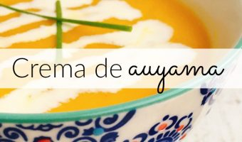 Crema de auyama, aprende a hacerla paso a paso