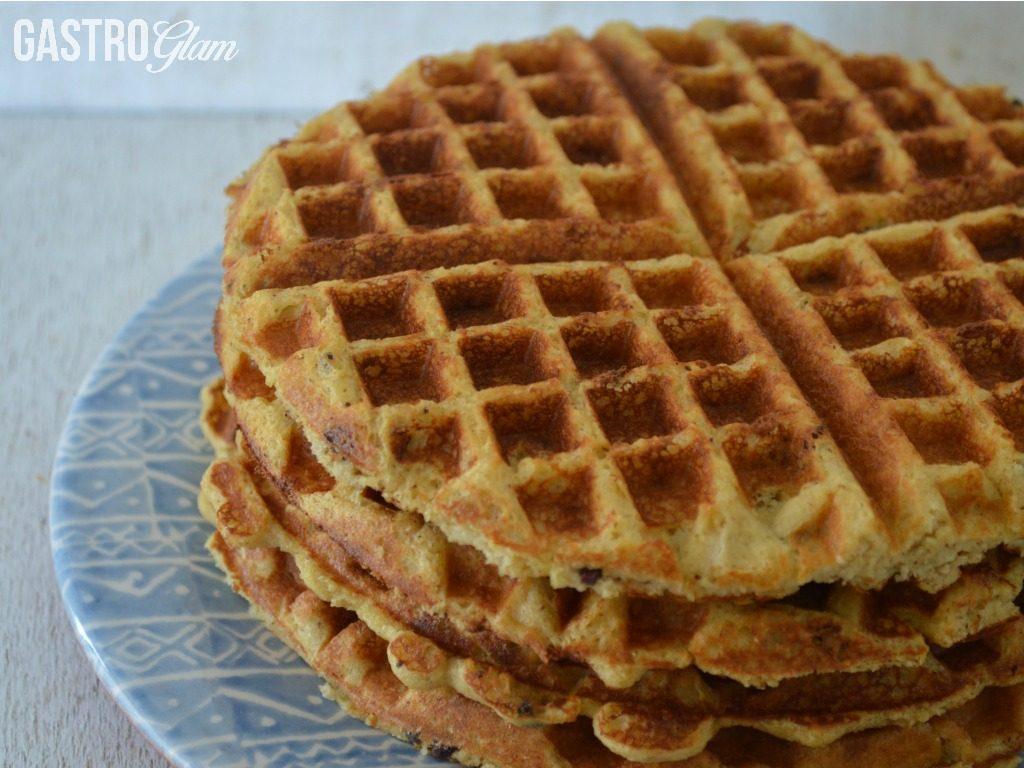 waffles-de-banano-y-chips-de-chocolate