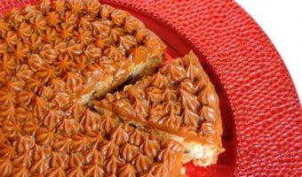 Cheesecake sano de arroz con leche, un postre diferente