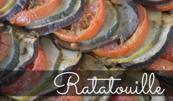 Ratatouille, el acompañamiento perfecto para comidas sanas