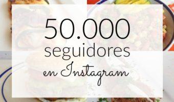 50000 seguidores en Instagram y yo solo tengo que decir ¡GRACIAS!