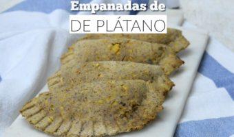 Empanadas de plátano, ¡sí es posible comerlas!