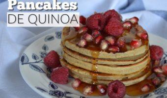 Quinoa pancakes, para romper la rutina de tus mañanas
