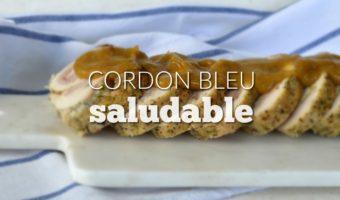 Receta de cordon bleu, ¡pero mucho más saludable!