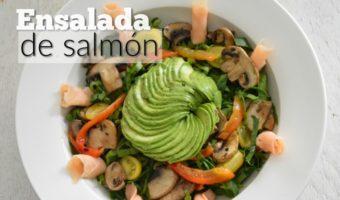 Ensalada de salmón, ¡un placer sin culpas!