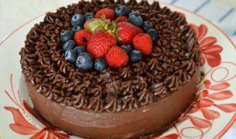 Torta de chocolate saludable, ¡disfruta sin remordimientos!