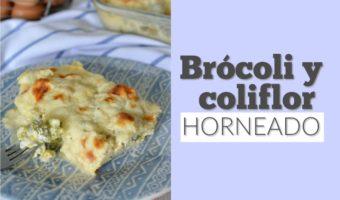 Brócoli y coliflor al horno, un suave acompañamiento para tus comidas