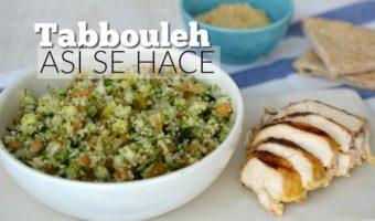 Tabbouleh, una sencilla ensalada árabe para tu menú
