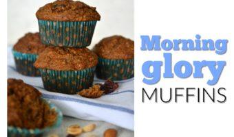 Morning glory muffins: un rico desayuno para ensayar