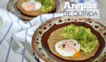 Arepas de quinoa, ¡prueba su versatilidad!