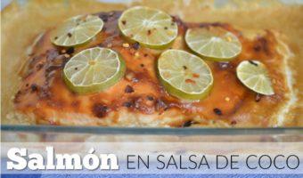 Salmón en salsa de coco, una sorpresa para el paladar
