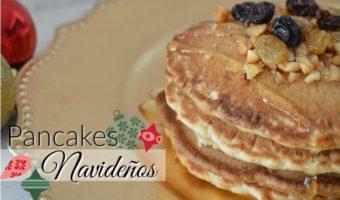 Pancakes navideños con sabor a gingerbread