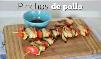 Pinchos de pollo, para cenar ligero y delicioso