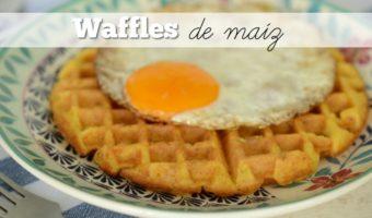 Waffles de maíz, un desayuno delicioso y diferente
