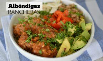Albóndigas de carne molida con sabor ranchero