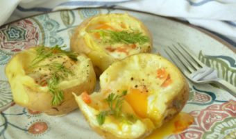 Potato skins, una receta para ver fútbol