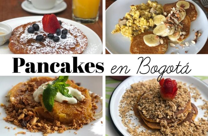 Pancakes en Bogotá: descubre mis cuatro recomendados